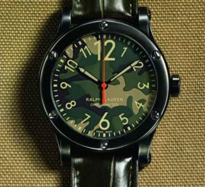 Ralph Lauren RL67 Safari Chronomètre : cadran camouflage pour jungle urbaine