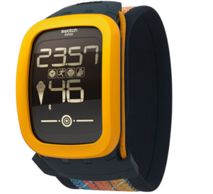 Swatch Touch Zero One : une montre très beach-volley