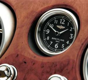 Breitling relooke l'horloge de bord de la Continental GT Speed de Bentley