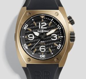 L'Instrument BR 02 de Bell and Ross montre en gamme et se pare d'or rose…