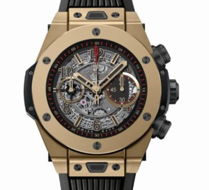 Hublot Big Bang Unico Full Magic Gold : montre en or inrayable