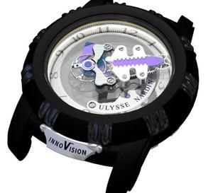 InnoVision d'Ulysse Nardin : dix innovations technologiques réunies au sein d'un seul concept watch