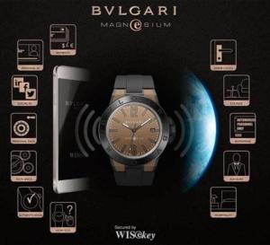 Diagono Magnesium : la smartwatch selon Bulgari