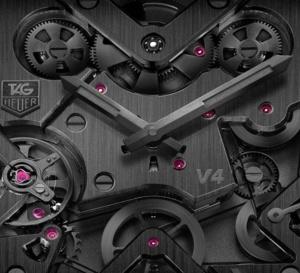 TAG Heuer Monaco V4 Phantom : noir c'est noir