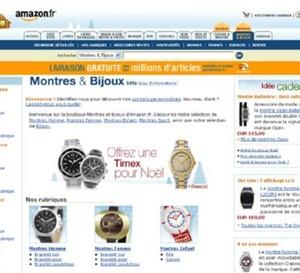 Des montres de luxe en vente sur Amazon.fr
