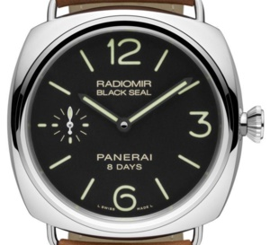 Radiomir Black Seal 8 jours 45 mm