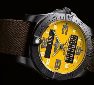Breitling Aerospace Evo : édition anniversaire à 300 ex. avec cadran jaune