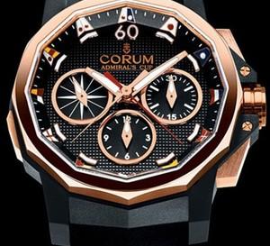 Corum Admiral's Cup Challenge 44 Regatta : une belle sportive en or rouge et caoutchouc noir