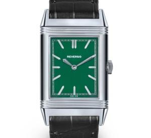 Grande Reverso Ultra Thin 1931 édition spécial Londres : cadran vert... anglais, forcément !