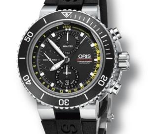 Oris Aquis Depth Gauge Chronograph : plongée en eaux profondes
