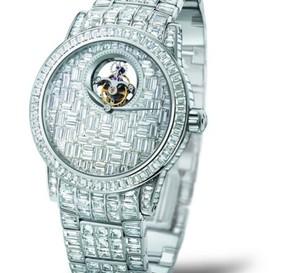 Blancpain présente un Tourbillon Diamants à l'occasion du salon Belles Montres à Paris