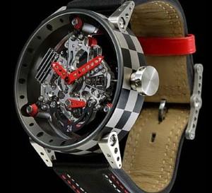 R50TN : une montre BRM dont le mouvement s'inspire d'un moteur de moto