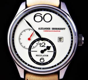 Alexander Shorokhoff Regulator chez Red Army Watches