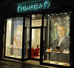Omega ouvre une nouvelle boutique sur les Champs-Elysées