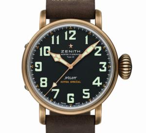 Zenith Pilot Type 20 Extra-Special : tout le charme du bronze