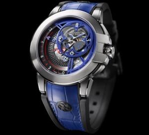 Harry Winston Ocean Dual Time Retrograde Only Watch 2015