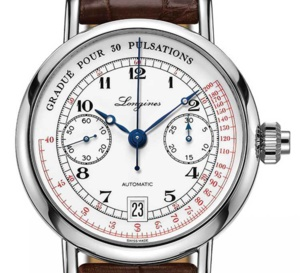 The Longines Pulsometer Chronograph : doctor's watch
