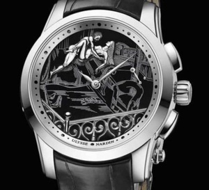 Ulysse Nardin Hourstriker Erotica Jarretière : hot watch