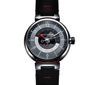 Louis Vuitton Tambour Graphite GMT