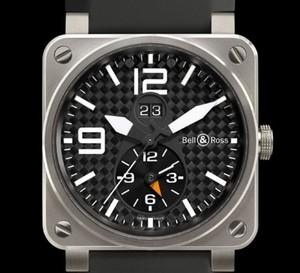 Instrument BR03-51 GMT Titanium, une montre pour les voyageurs au long cours : second fuseau horaire et grande date