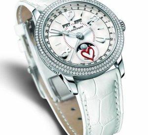 Blancpain et la Saint-Valentin 2008 : l'alliance de l'exquise audace et de l'élégance classique
