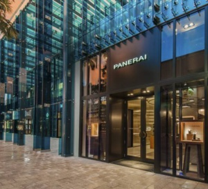 Miami : Panerai ouvre une boutique dans le Design district