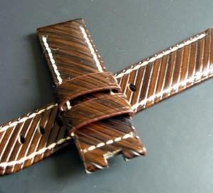 Zoom sur le bracelet « Riva » Panerai pour montres Luminor