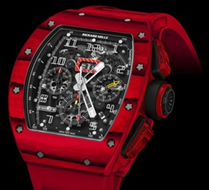 Richard Mille RM 011 Quartz TPT... rouge passion