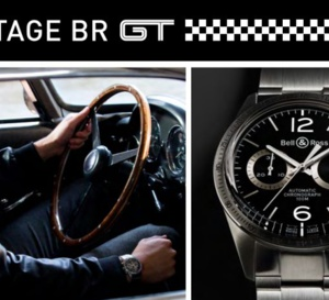 Bell&Ross Vintage BR GT : l'appel de l'asphalte