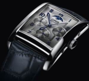 Oris Rectangular Complication : so  chic