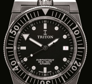 Triton Subphotique : sauvée des eaux