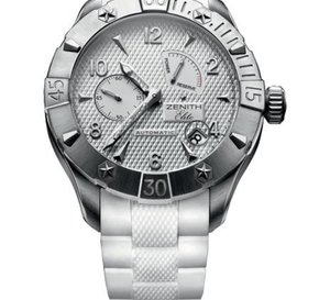 His watch for her… Zenith propose aux femmes des montres d'hommes…