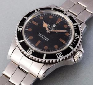 Rolex : 335.000 euros pour la Submariner de James Bond