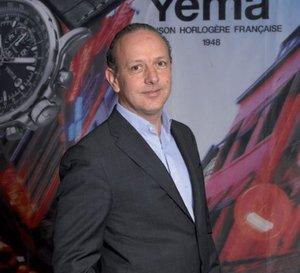 Portrait de Louis-Eric Beckensteiner, président de Yema Maison Horlogère Française 1948