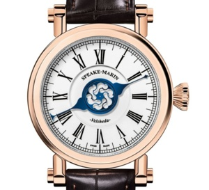 Velsheda : la montre monoaiguille selon Speake-Marin
