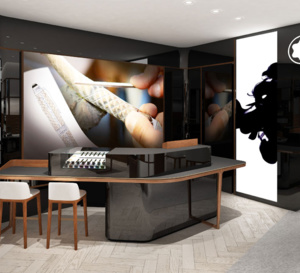 Montblanc : nouveau concept de boutique à Paris