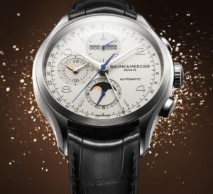 Baume et Mercier Clifton Chronographe Calendrier Complet