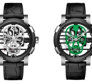 RJ-Romain Jerome Skylab 48 Speed Metal Skull : la mort en couleurs