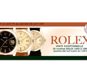 Vente de Rolex Vintage sur le site Internet Bestmarques.com