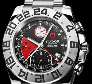 Tudor Iconaut : une montre chronographe et GMT à la fois