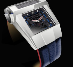 PF Bugatti Type 390 Concept Watch : un bloc moteur au poignet