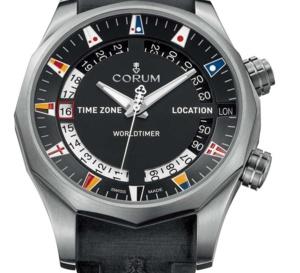 Corum Admiral's Cup Legend 47 Worldtimer : voyageurs du monde