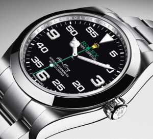 Rolex Air-King : le retour... en vol !
