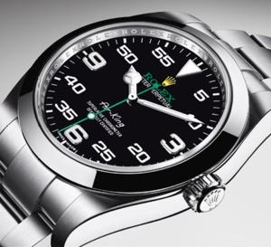 Rolex Air-King : le retour... en vol !
