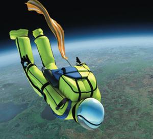 Bell & Ross partenaire du parachutiste Michel Fournier et de son « grand saut » à 40 km d'altitude