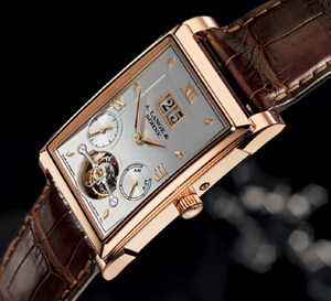 Cabaret Tourbillon de Lange and Söhne : le premier tourbillon doté d'un « arrêt secondes »
