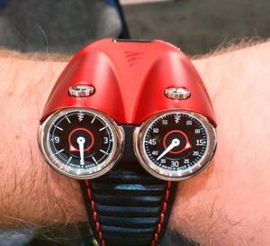 Azimuth Twin Turbo : montre vrombissante