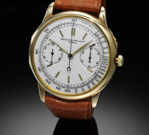 Trossi Legenda, le chronographe Patek Philippe du comte a été adjugé par Sotheby's à 1.43 million d'euros