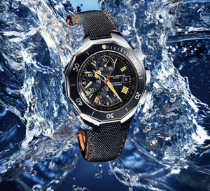 Baume et Mercier : deux nouvelles plongeuses dans la collection Riviera, la XXL Chrono Diver et la XL Diver