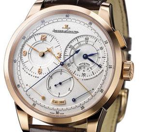 Le Duomètre à Chronographe de Jaeger-LeCoultre : 1ère place 'innovation technique' 2008 pour le magazine Chronos
